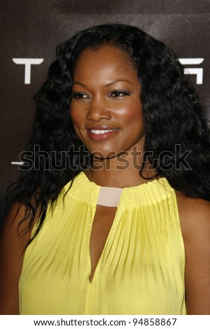LOS ANGELES, CA - FEB 9: Garcelle Beauvais at the Tesla Worldwide Debut of Model X on February 9, 2012 in Hawthorne, Los Angeles, California