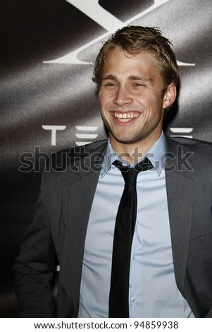 LOS ANGELES, CA - FEB 9: Max Lloyd Jones at the Tesla Worldwide Debut of Model X on February 9, 2012 in Hawthorne, Los Angeles, California - stock photo