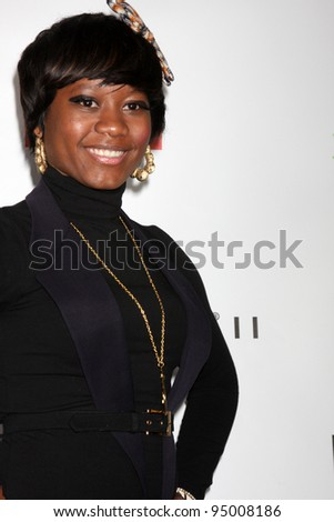 LOS ANGELES, CA - FEB 13: PRISCILLA RENEA at the EMI GRAMMY After-Party at Milk Studios on February 13, 2011 in Los Angeles, California