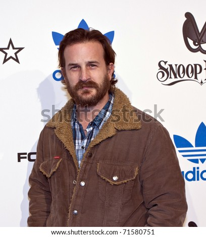 LOS ANGELES, CA - FEBRUARY 19: Actor Richard Speight Jr. attends the Adidas and Snoop Dogg Co-Host ASW Party at The Standard Hotel on February 19, 2011 in Los Angeles, California - stock photo