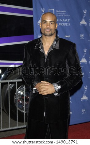 LOS ANGELES, CA - FEBRUARY 23, 2002: BORIS KODJOE at the 33rd Annual NAACP Image Awards at Universal Studios, Hollywood.