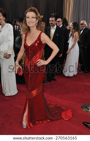 LOS ANGELES, CA - FEBRUARY 26, 2012: Jane Seymour at the 84th Annual Academy Awards at the Hollywood & Highland Theatre, Hollywood.