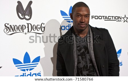 LOS ANGELES, CA - FEBRUARY 19: Kevin McCall attends the Adidas and Snoop Dogg Co-Host ASW Party at The Standard Hotel on February 19, 2011 in Los Angeles, California