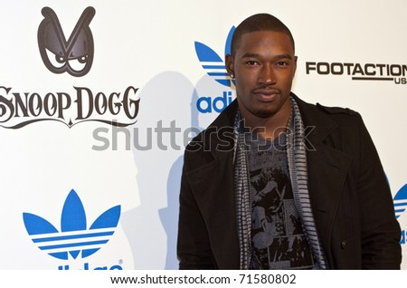 LOS ANGELES, CA - FEBRUARY 19: Kevin McCall attends the Adidas and Snoop Dogg Co-Host ASW Party at The Standard Hotel on February 19, 2011 in Los Angeles, California - stock photo