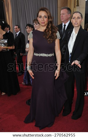 LOS ANGELES, CA - FEBRUARY 26, 2012: Maya Rudolph at the 84th Annual Academy Awards at the Hollywood & Highland Theatre, Hollywood.