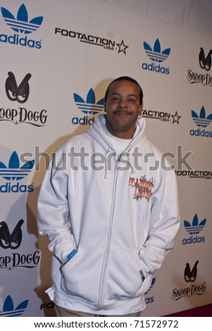 LOS ANGELES, CA - FEBRUARY 19: Suga Free attends the Adidas and Snoop Dogg Co-Host ASW Party at The Standard Hotel on February 19, 2011 in Los Angeles, California - stock photo