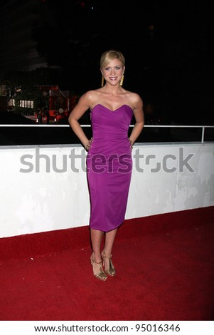 LOS ANGELES, CA - JAN 16: Brittany Snow at the 3rd Annual Art of Elysium Gala on January 16, 2010 in Los Angeles, California - stock photo