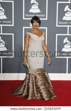 LOS ANGELES, CA - JAN 31: Niecy Nash at the 52nd Annual GRAMMY Awards held at the Nokia Theater on January 31, 2010 in Los Angeles, California