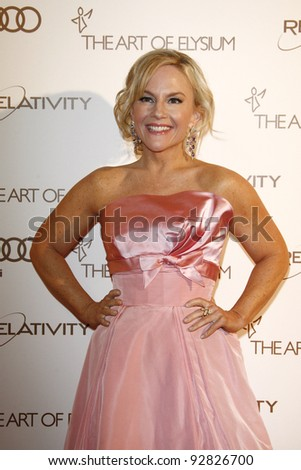 LOS ANGELES, CA - JAN 14: Rachael Harris at the 2012 Art of Elysium Heaven Gala at Union Station on January 14, 2012 in Los Angeles, California