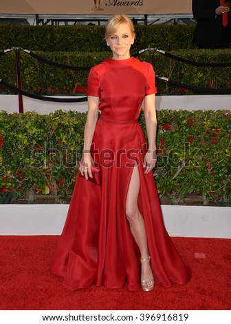 LOS ANGELES, CA - JANUARY 30, 2016: Anna Faris at the 22nd Annual Screen Actors Guild Awards at the Shrine Auditorium.