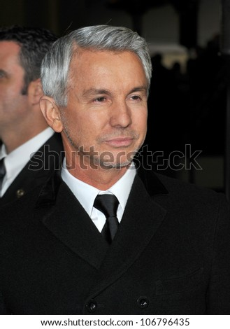 LOS ANGELES, CA - JANUARY 29, 2011: Baz Luhrman at the 63rd Annual Directors Guild of America Awards at Hollywood & Highland. January 29, 2011  Los Angeles, CA