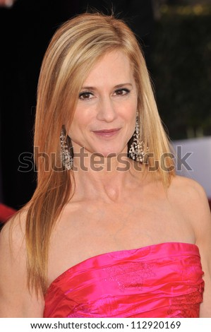 LOS ANGELES, CA - JANUARY 25, 2009: Holly Hunter at the 15th Annual Screen Actors Guild Awards at the Shrine Auditorium, Los Angeles.
