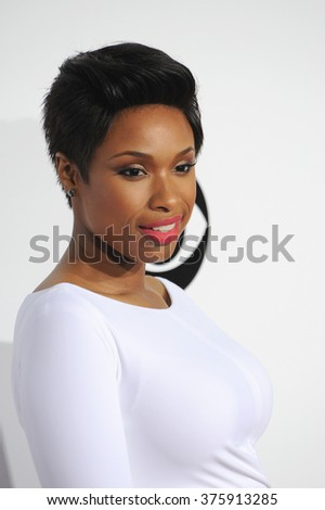 LOS ANGELES, CA - JANUARY 8, 2014: Jennifer Hudson at the 2014 People's Choice Awards at the Nokia Theatre, LA Live.
