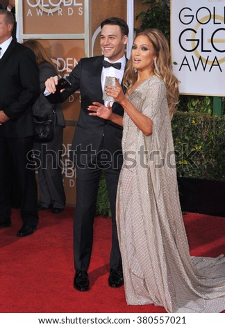 LOS ANGELES, CA - JANUARY 11, 2015: Jennifer Lopez at the 72nd Annual Golden Globe Awards at the Beverly Hilton Hotel, Beverly Hills.
