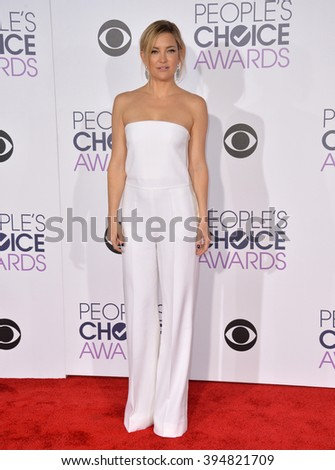 LOS ANGELES, CA - JANUARY 6, 2016: Kate Hudson at the People's Choice Awards 2016