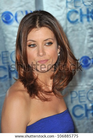 LOS ANGELES, CA - JANUARY 5, 2011: Kate Walsh at the 2011 Peoples' Choice Awards at the Nokia Theatre L.A. Live in downtown Los Angeles. January 5, 2011  Los Angeles, CA - stock photo