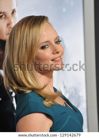 "LOS ANGELES, CA - JANUARY 24, 2013: Marley Shelton at the Los Angeles premiere of ""Hansel & Gretel: Witch Hunters"" at Grauman's Chinese Theatre, Hollywood. - stock photo"