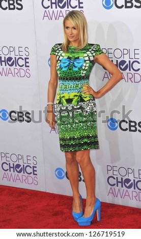 LOS ANGELES, CA - JANUARY 9, 2013: Paris Hilton at the People's Choice Awards 2013 at the Nokia Theatre L.A. Live. - stock photo