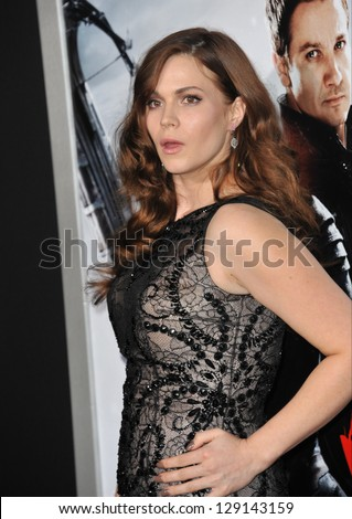"LOS ANGELES, CA - JANUARY 24, 2013: Pihla Viitala at the Los Angeles premiere of her new movie ""Hansel & Gretel: Witch Hunters"" at Grauman's Chinese Theatre, Hollywood. - stock photo"