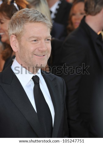 LOS ANGELES, CA - JANUARY 29, 2012: Sir Kenneth Brannagh at the 17th Annual Screen Actors Guild Awards at the Shrine Auditorium, Los Angeles. January 29, 2012  Los Angeles, CA