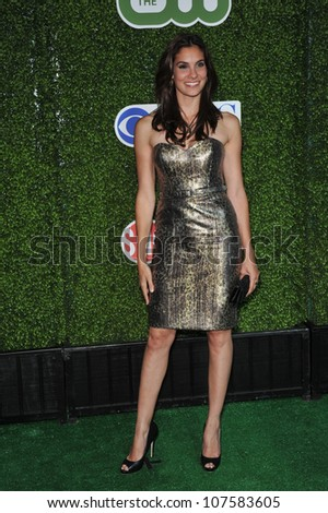 "LOS ANGELES, CA - JULY 28, 2010: Daniela Ruah - star of ""NCIS: Los Angeles"" - at CBS TV Summer Press Tour Party in Beverly Hills."