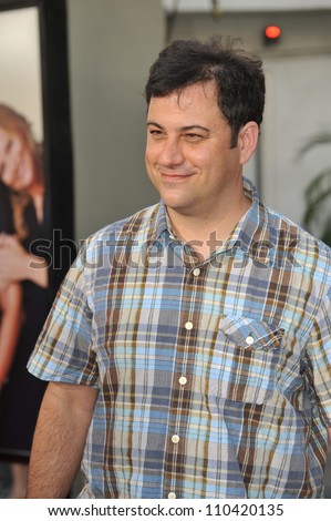 "LOS ANGELES, CA - JULY 20, 2009: Jimmy Kimmel at the world premiere of ""Funny People"" at the Arclight Theatre, Hollywood."