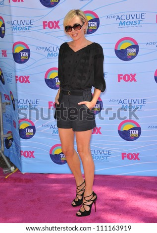 LOS ANGELES, CA - JULY 23, 2012: Portia De Rossi at the 2012 Teen Choice Awards at the Gibson Amphitheatre, Universal City. - stock photo