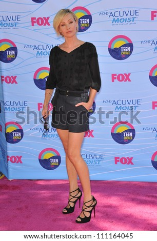 LOS ANGELES, CA - JULY 23, 2012: Portia De Rossi at the 2012 Teen Choice Awards at the Gibson Amphitheatre, Universal City.