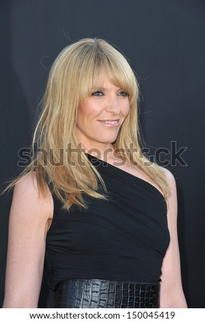 LOS ANGELES, CA - JULY 29, 2013: Toni Collette at the CBS 2013 Summer Stars Party in Beverly Hills.