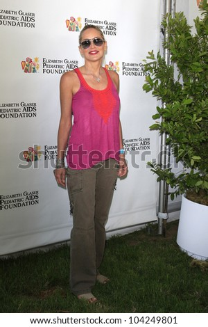 LOS ANGELES, CA - JUN 3: Sharon Stone at the 23rd Annual 'A Time for Heroes' Celebrity Picnic Benefitting the Elizabeth Glaser Pediatric AIDS Foundation on June 3, 2012 in Los Angeles, California