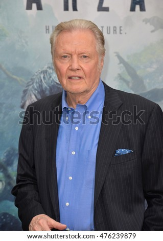"LOS ANGELES, CA. June 27, 2016: Actor Jon Voight at the world premiere of ""The Legend of Tarzan"" at the Dolby Theatre, Hollywood."