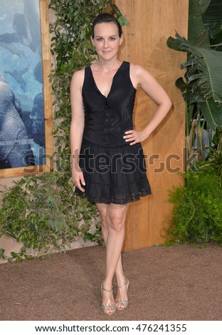 "LOS ANGELES, CA. June 27, 2016: Actress Carla Gallo at the world premiere of ""The Legend of Tarzan"" at the Dolby Theatre, Hollywood."