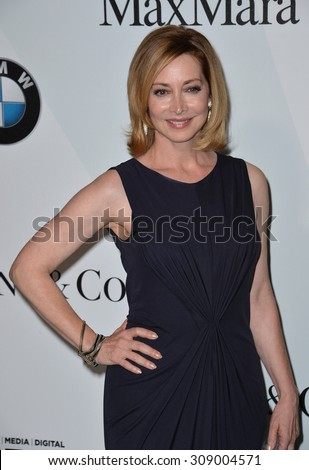 LOS ANGELES, CA - JUNE 16, 2015: Actress Sharon Lawrence at the Women in Film 2015 Crystal + Lucy Awards at the Hyatt Regency Century Plaza Hotel.   - stock photo
