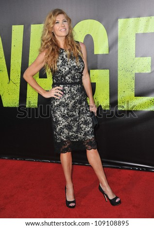 "LOS ANGELES, CA - JUNE 26, 2012: Connie Britton at the world premiere of  ""Savages"" at Mann Village Theatre, Westwood."