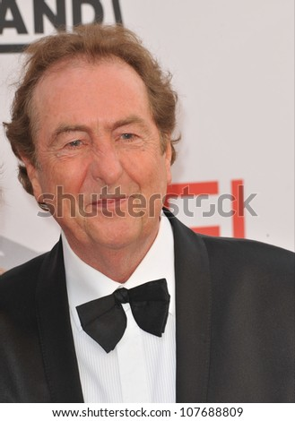 LOS ANGELES, CA - JUNE 10, 2010: Eric Idle at the 2010 AFI Life achievement Award Gala, honoring director Mike Nichols, at Sony Studios, Culver City, CA. - stock photo