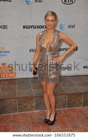 LOS ANGELES, CA - JUNE 4, 2011: Iliza Shlesinger at Spike TV's Guys Choice Awards 2011 at Sony Studios, Culver City, CA. June 4, 2011  Los Angeles, CA
