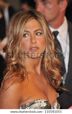 LOS ANGELES, CA - JUNE 12, 2009: Jennifer Aniston at the Women in Film 2009 Crystal + Lucy Awards at the Hyatt Regency Century Plaza Hotel, Century City