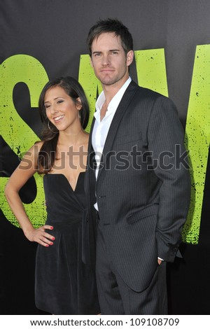 "LOS ANGELES, CA - JUNE 26, 2012: Jonathan Patrick Moore at the world premiere of ""Savages"" at Mann Village Theatre, Westwood."