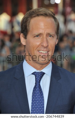 "LOS ANGELES, CA - JUNE 30, 2014: Nat Faxon at the premiere of his movie ""Tammy"" at the TCL Chinese Theatre, Hollywood.  - stock photo"
