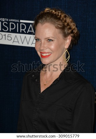 LOS ANGELES, CA - JUNE 5, 2015: Sarah Jane Morris at the Step Up Women's Network 12th Annual Inspiration Awards at the Beverly Hilton Hotel..  - stock photo