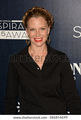 LOS ANGELES, CA - JUNE 5, 2015: Sarah Jane Morris at the Step Up Women's Network 12th Annual Inspiration Awards at the Beverly Hilton Hotel. - stock photo
