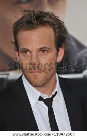 "LOS ANGELES, CA - JUNE 23, 2009: Stephen Dorff at the Los Angeles premiere of his new movie ""Public Enemies"" at Mann Village Theatre, Westwood."