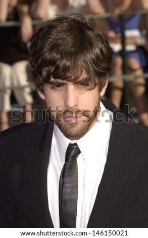 LOS ANGELES, CA - MARCH 10, 2002: Actor ADAM GOLDBERG at the 8th Annual Screen Actors Guild Awards in Los Angeles.