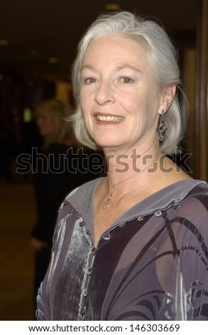 LOS ANGELES, CA - MARCH 9, 2002: Actress JANE ALEXANDER at the 54th Annual Directors Guild Awards in Beverly Hills.  - stock photo