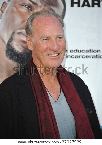 "LOS ANGELES, CA - MARCH 25, 2015: Craig T. Nelson at the Los Angeles premiere of  his movie ""Get Hard"" at the TCL Chinese Theatre, Hollywood.  - stock photo"