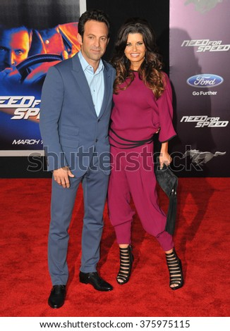 "LOS ANGELES, CA - MARCH 6, 2014: Director Scott Waugh at the U.S. premiere of his movie ""Need for Speed"" at the TCL Chinese Theatre, Hollywood."