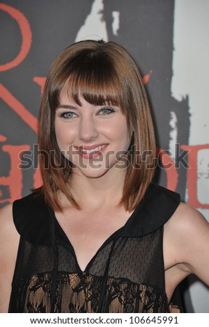 "LOS ANGELES, CA - MARCH 7, 2011: Haley Ramm at the Los Angeles premiere of ""Red Riding Hood"" at Grauman's Chinese Theatre, Hollywood. March 7, 2011  Los Angeles, CA"