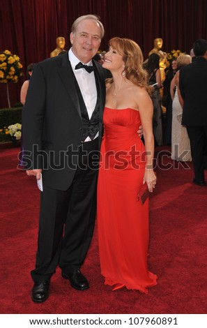 LOS ANGELES, CA - MARCH 7, 2010: Jane Seymour & James Keach at the 82nd Annual Academy Awards at the Kodak Theatre, Hollywood.