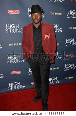 "LOS ANGELES, CA - MARCH 29, 2016: Joshua Allen at the premiere for ""High Strung"" at the TCL Chinese 6 Theatres, Hollywood."