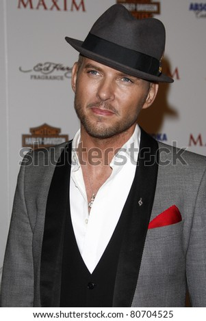 LOS ANGELES, CA - MAY 19: Matt Goss arrives at the 11th annual Maxim Hot 100 Party at Paramount Studios on May 19, 2010 in Los Angeles, California